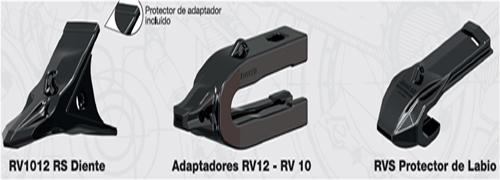 rv1012 diente rv12 adaptador rvs protector